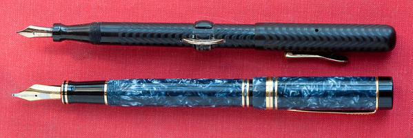 Conklin Crescent Filler and a Parker Duofold Centennial