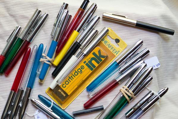 Sheaffer Student Cartridge Pens c.1955 - 1970